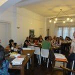 Dictando el Taller Extensivo de Eneagrama Nivel I - Córdoba, 2013