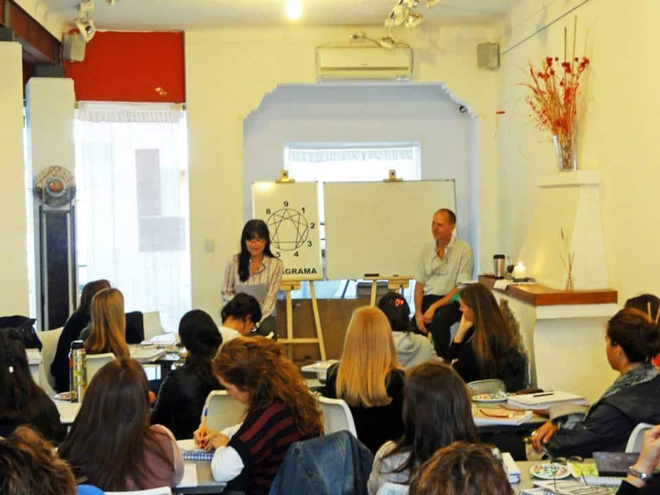 Dictando nuestro primer Taller de Eneagrama Nivel I - Córdoba, 2013