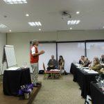 Colaborando en el Taller de Eneagrama dictado por Roberto Pérez en Montevideo, Uruguay, 2013
