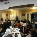 Dictando el Taller Extensivo de Eneagrama Nivel II - Córdoba, 2014