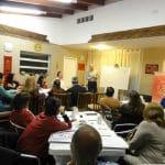 Dictando el Taller Extensivo de Eneagrama Nivel I - Córdoba, 2014