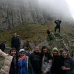 Viaje a Los Gigantes con alumnos y alumnas