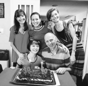Familia de Orlando y Laura