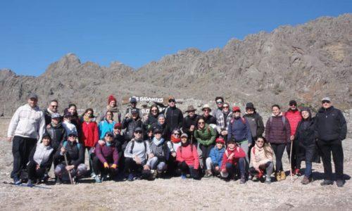 Con el grupo de alumnos de Eneagrama en Los Gigantes